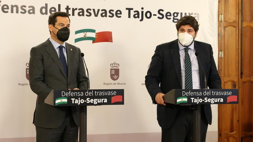 Miras y Moreno se unen en la defensa del Tajo-Segura