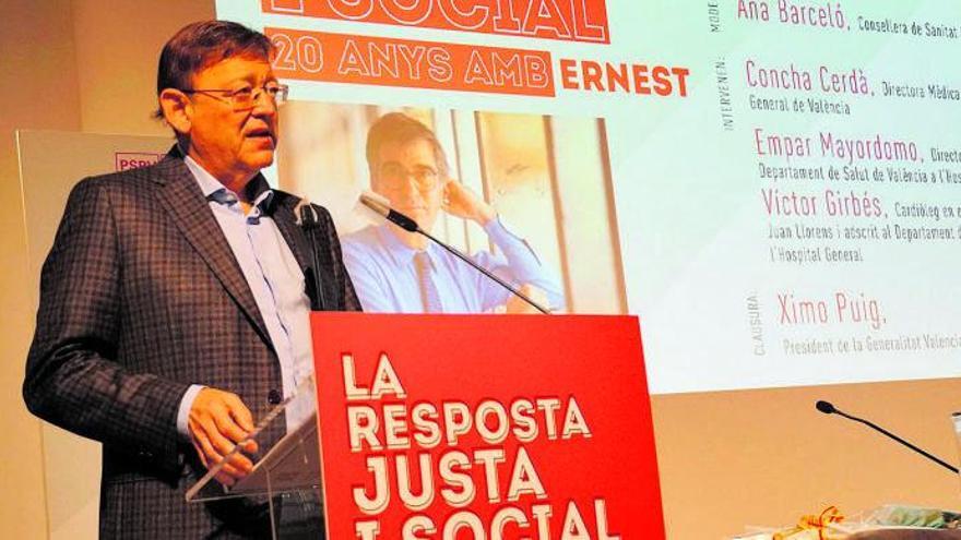 Puig rehace puentes con Cataluña