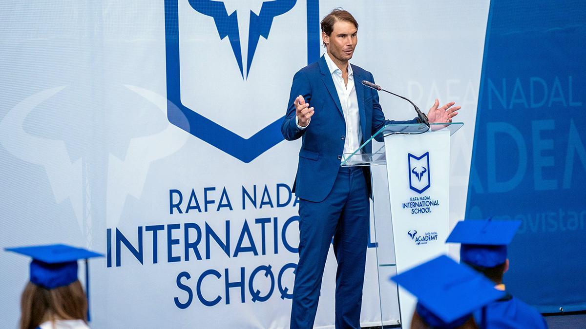 El Rafa Nadal International School destaca por la búsqueda constante de la calidad en la enseñanza