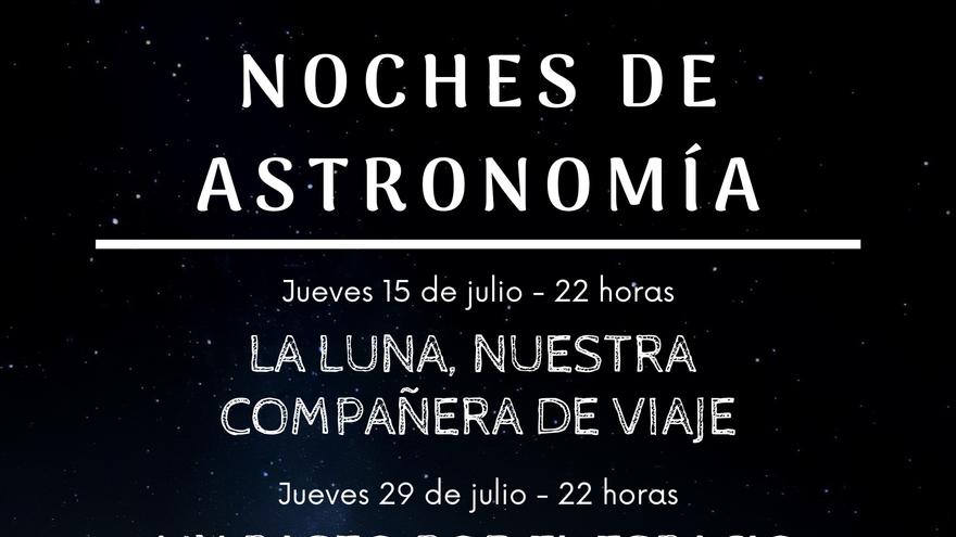 Noches de astronomía