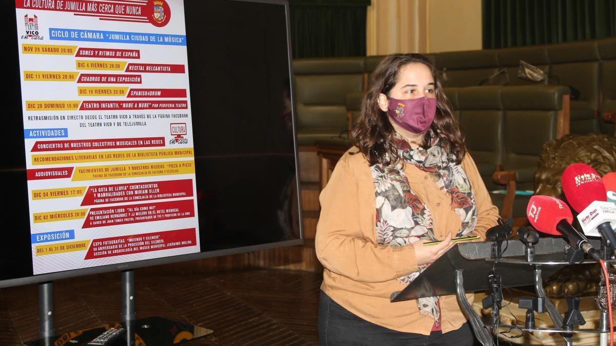 Jumilla presenta varias actividades culturales para disfrutar online