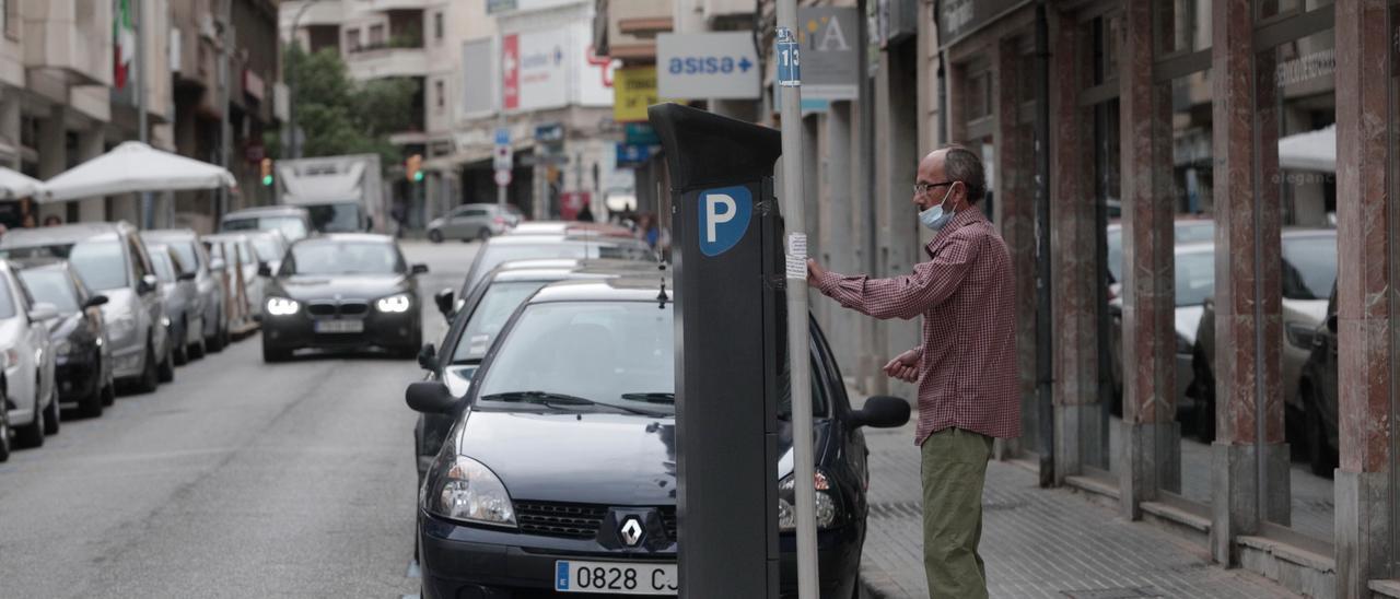 Los residentes de Palma toman los aparcamientos del centro el Día sin Coches