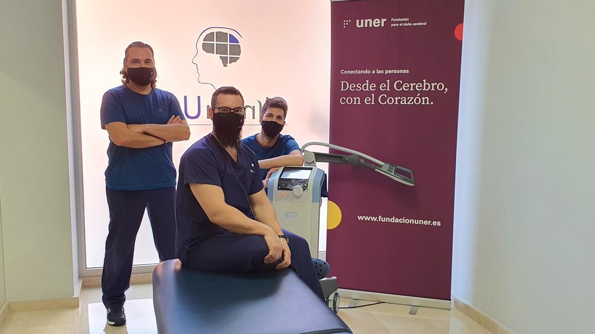 La Fundación Clínica UNER ya dispone de aparatología de última generación para las personas con daño cerebral afectadas por la covid-19.