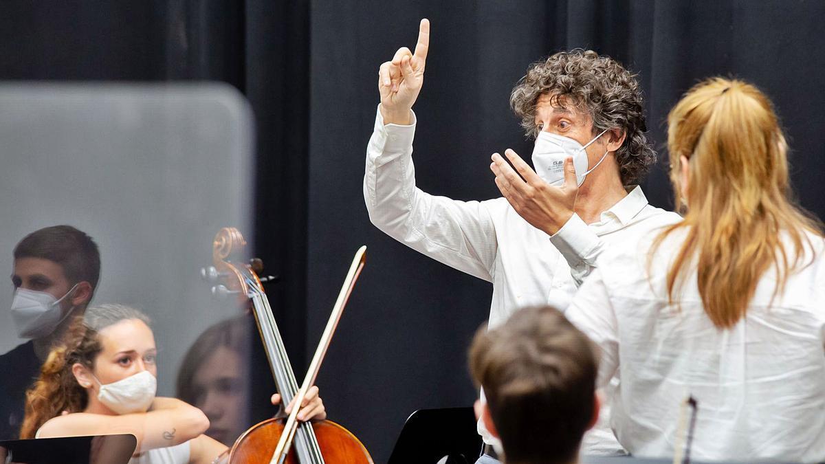 La temporada 2021 de la Jove Orquestra Simfònica de FSMCV arranca hui en el Palau de les Arts