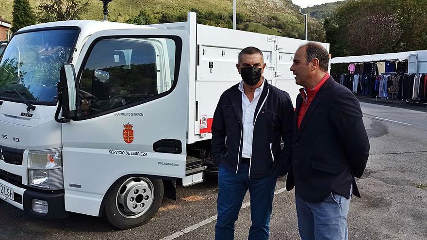 Morcín reduce emisiones y ruido con un camión eléctrico para la recogida de basura
