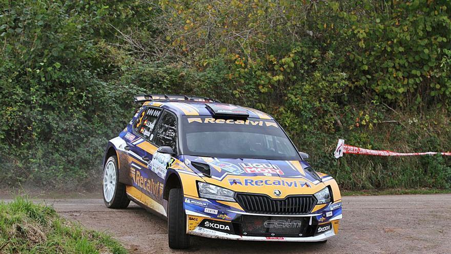 """""""Cohete"""" Suárez, primer piloto asturiano en cuatro décadas que sale con el número 1 en el Rallye """"Princesa"""""""