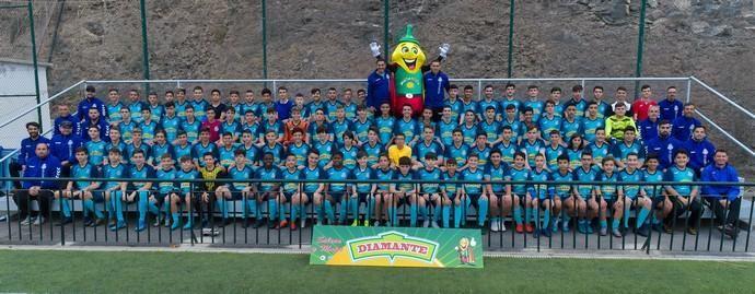 05-03-2020 LAS PALMAS DE GRAN CANARIA. Reportaje a equipos de fútbol 11 del Carnevali. Fotógrafo: ANDRES CRUZ  | 05/03/2020 | Fotógrafo: Andrés Cruz