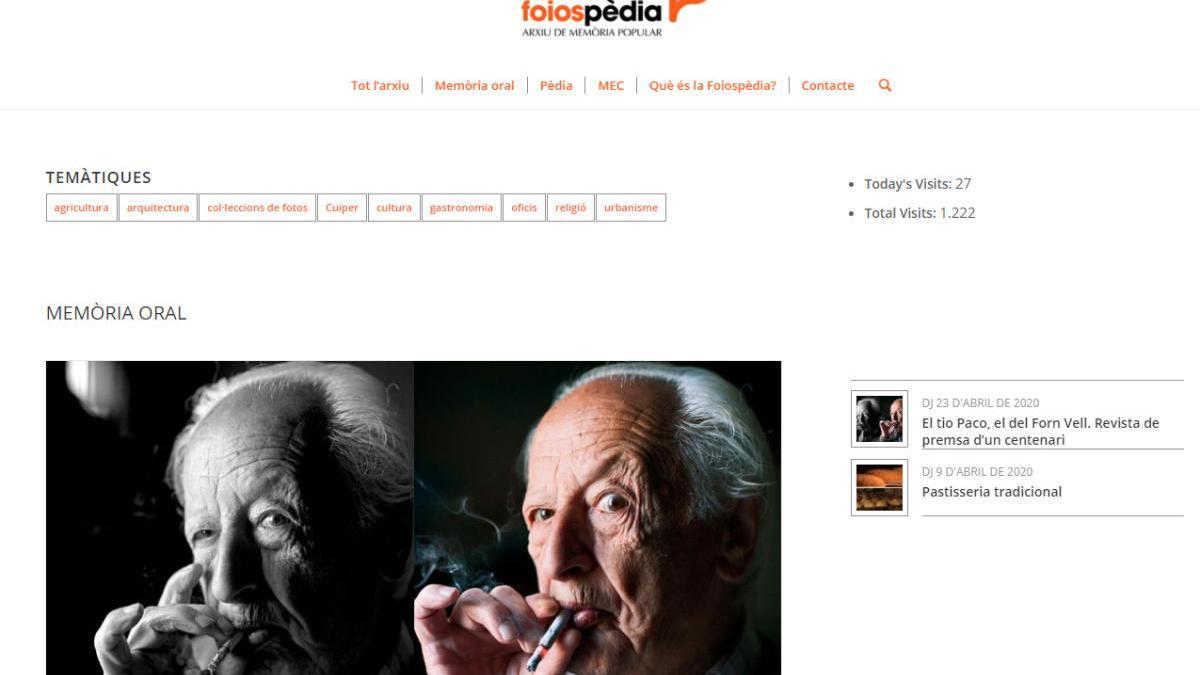 FoiosPèdia, el archivo de memoria popular de Foios