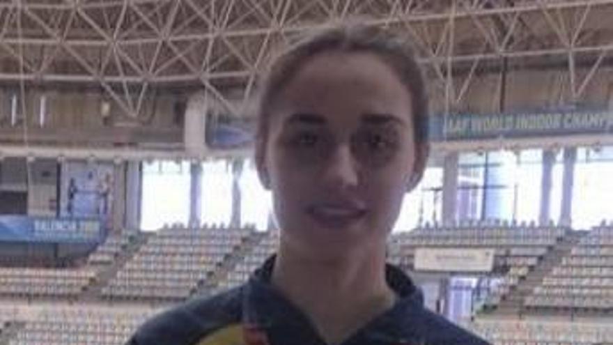 Cristina Segura  (CA Safor) gana el autonómico de combinadas en categoría junior