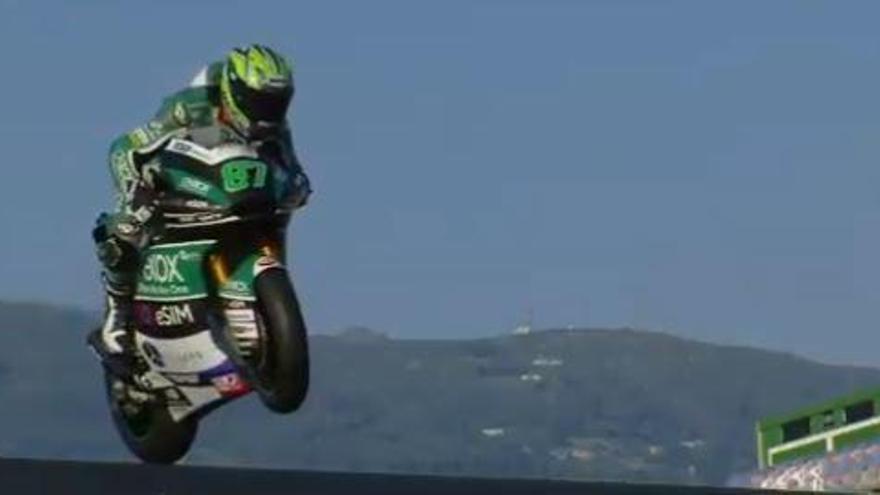 Gardner conquista la última pole de Moto2