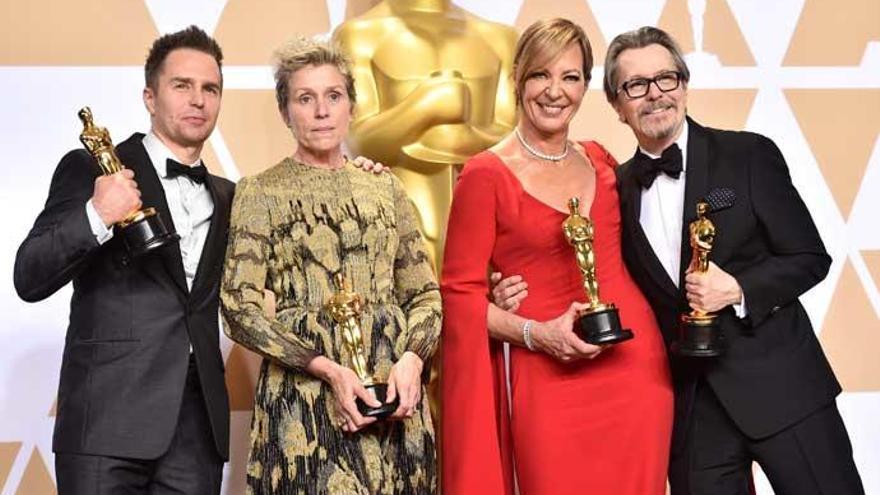 Sam Rockwell y Allison Janney, mejor secundarios en los Oscars 2018