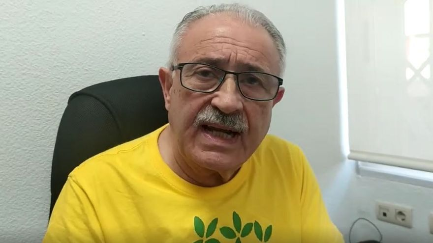 Eduardo Estrella, secretario del Colegio de Enfermería de la Región, condena la agresión sufrida por sanitarios de Alhama