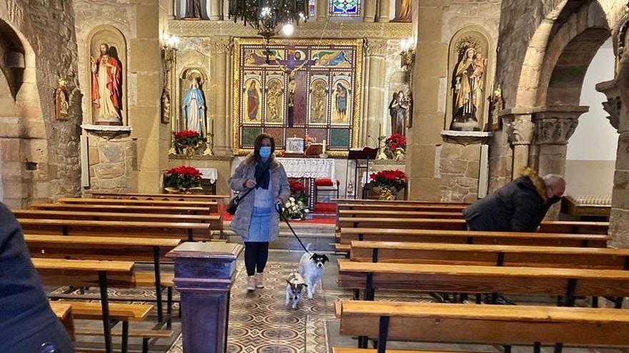 Una misa muy animal en La Magdalena