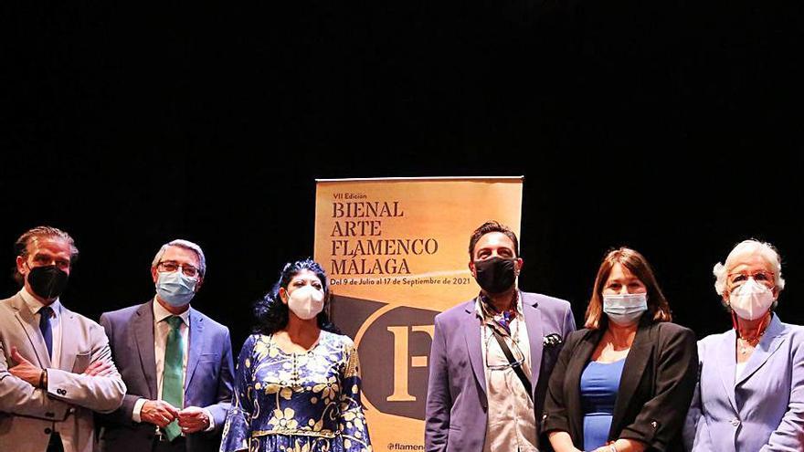 Sara Baras, Lombo y Pepe de Lucía lideran el cartel de la Bienal jonda