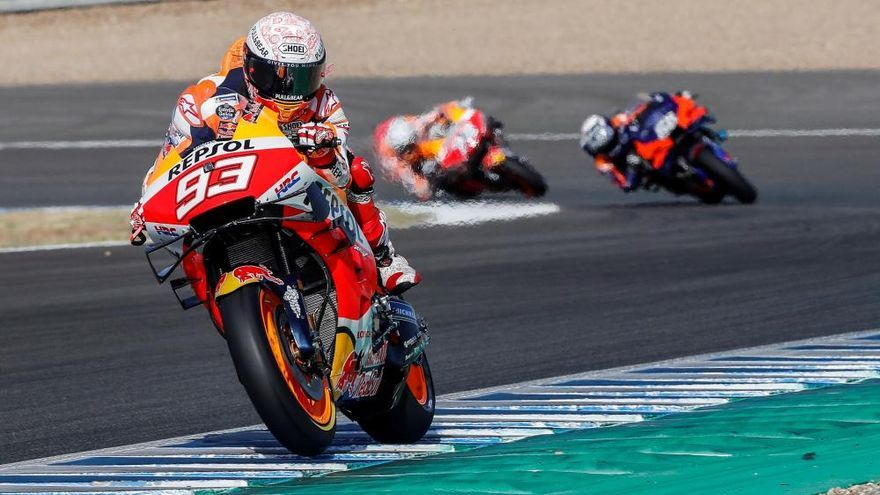 Fabio Quartararo se impone en el Gran Premio de España de MotoGp en Jerez