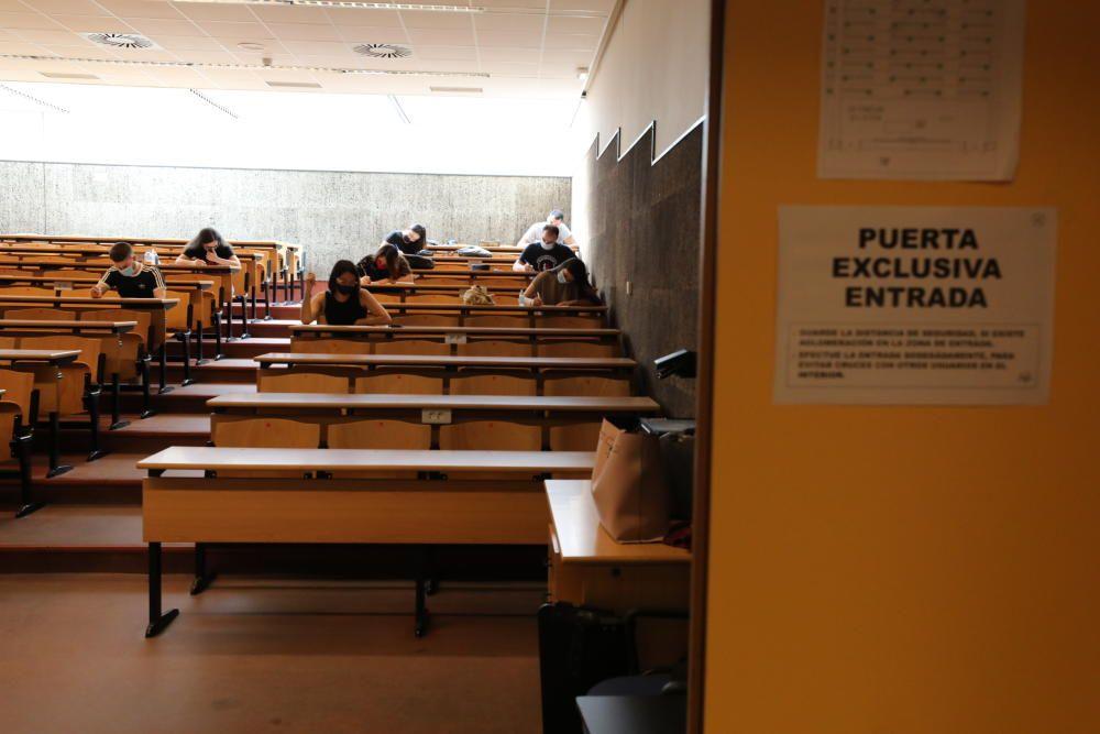 Regreso de los exámenes a la UMH