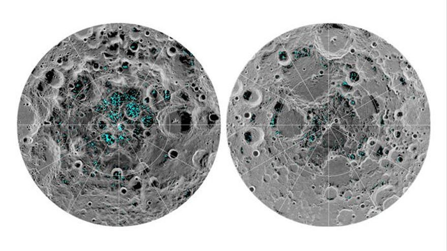 Confirmen definitivament l'evidència de gel a la lluna