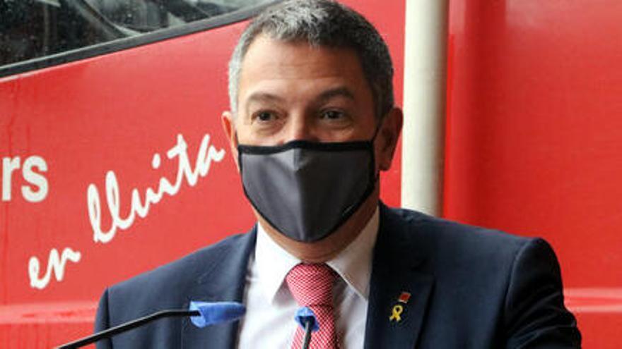 Sàmper afirma la seva intenció de portar al Parlament el debat del sistema d'ordre públic