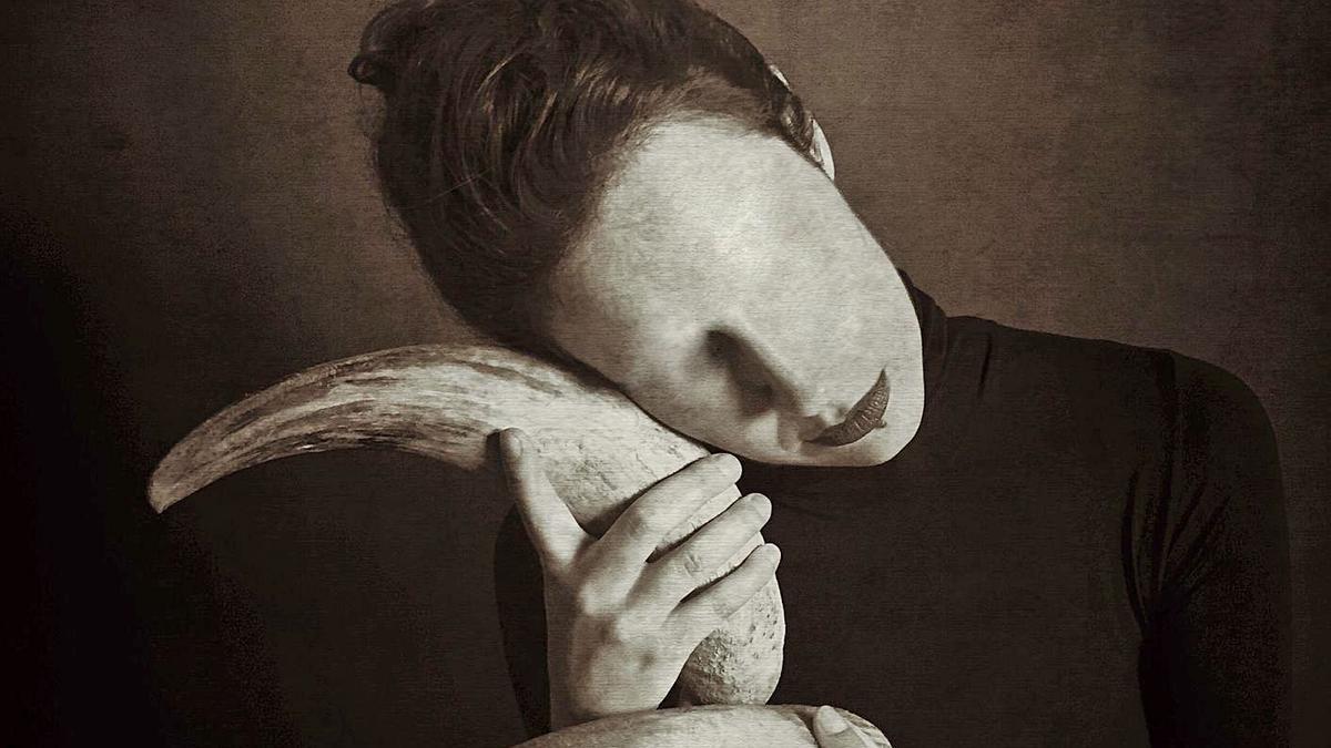 Una de las imágenes de Velvet que se pueden ver en La Laguna, 'Tristeza silenciosa'.