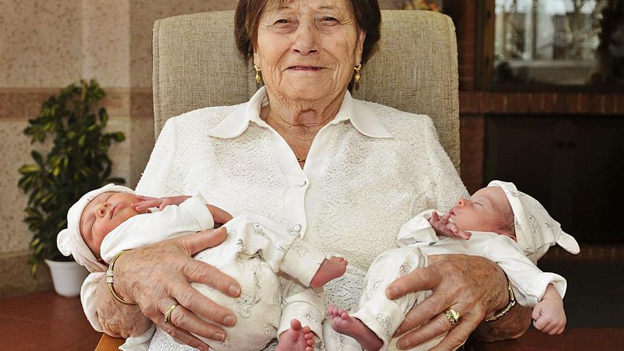 La matriarca y sus dos tesoros
