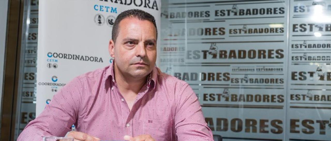 Antolín Goya, coordinador General de Coordinadora Estatal de Trabajadores del Mar.