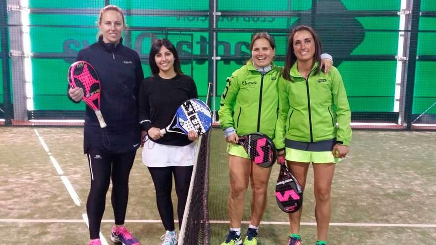 Victoria en la Liga asturiana de pádel
