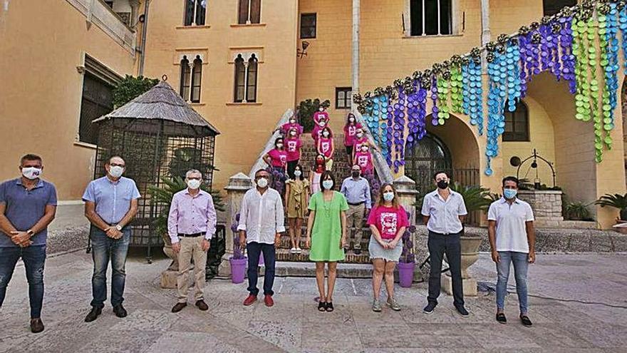 Gandia vuelve a ser sede de la campaña de dinamización del sector florista