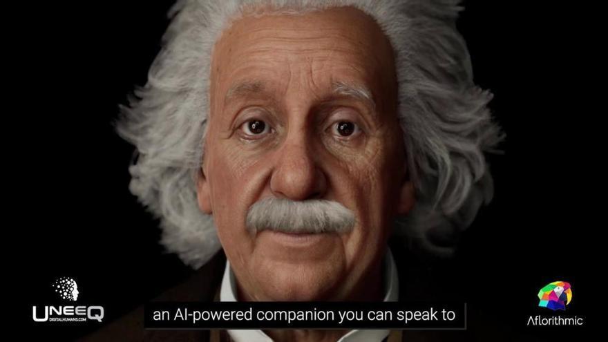 La Intel·ligència Artificial ressuscita a Einstein