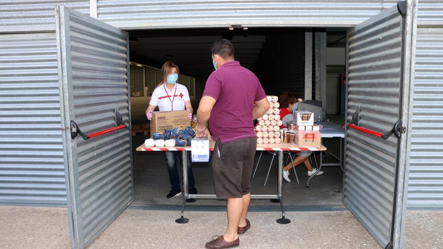 Cruz Roja repartirá en Zamora 28 toneladas de alimentos a familias vulnerables