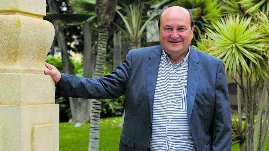 Andoni Ortuzar: «Los nacionalistas tienen que colaborar para el autogobierno»