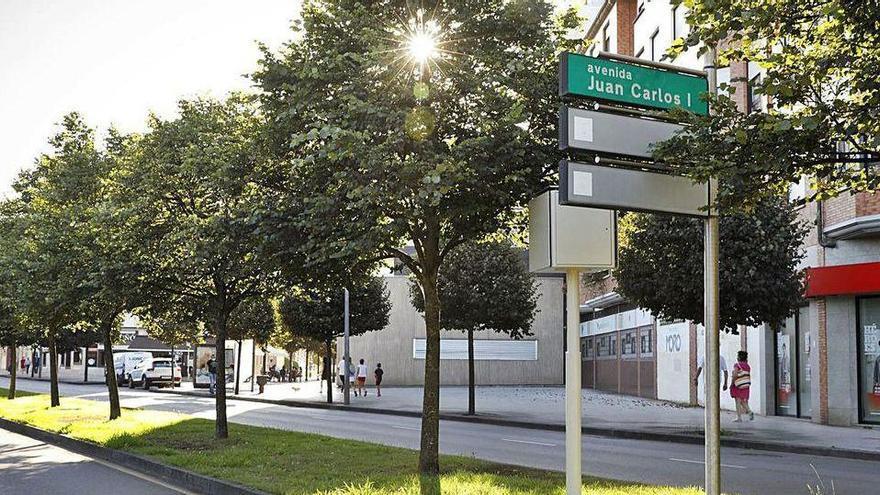 Gijón retirará el nombre de Juan Carlos I a su avenida