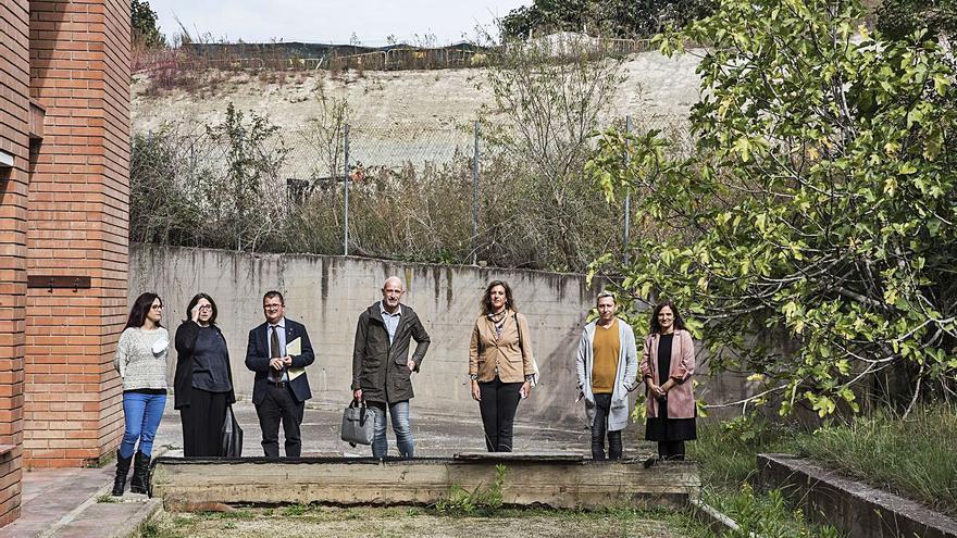 L'Ajuntament de Manresa tira endavant el polèmic nou jardí de la residència de la Font