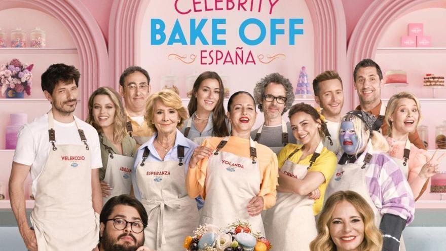 Así es 'Celebrity Bake Off', el talent culinario con famosos que llega a Prime Video