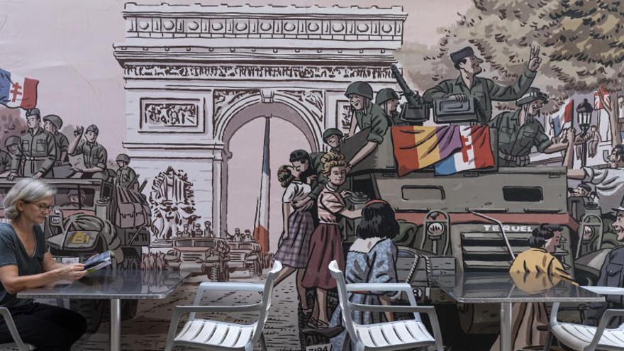 El día que un valenciano liberó París