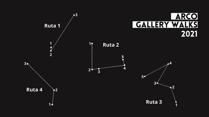 Arco Gallery Walks. Abierto Valencia 2021