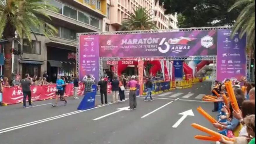 Ana Begoña González, campeona de la sexta Maratón de Santa Cruz