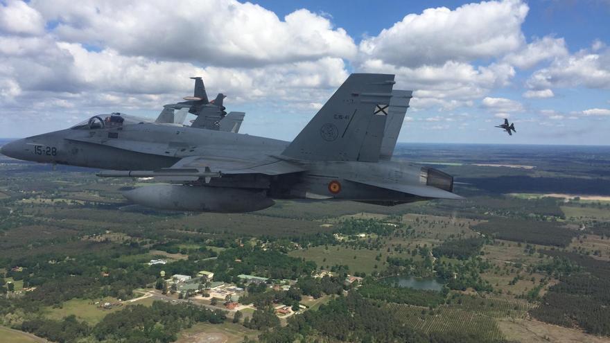 La OTAN certifica que un avión privado provocó el cierre del espacio aéreo de Mallorca