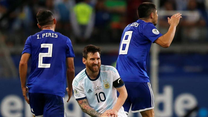 Argentina no pasa del empate frente a Paraguay