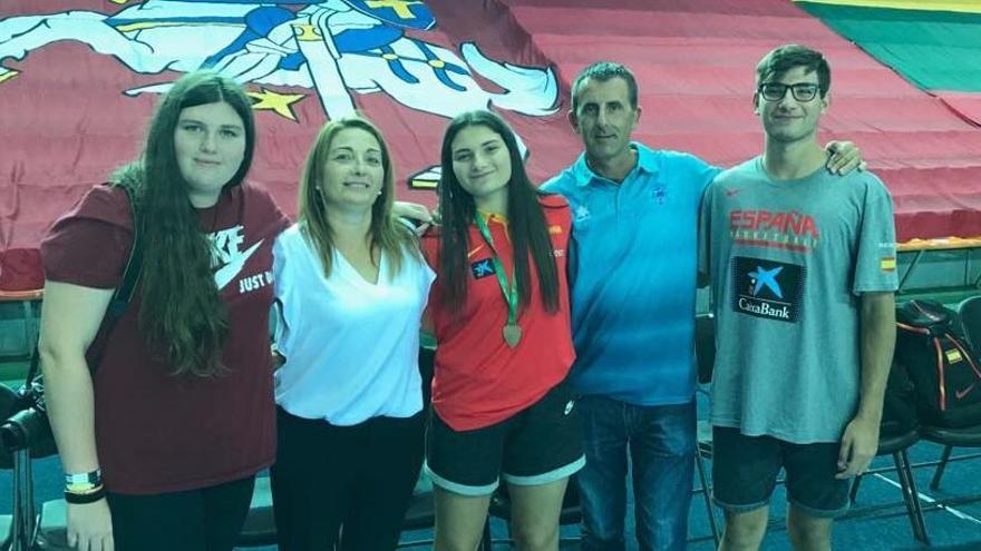 La murciana Alejandra Sánchez se cuelga el bronce en el Eurobasket sub-16