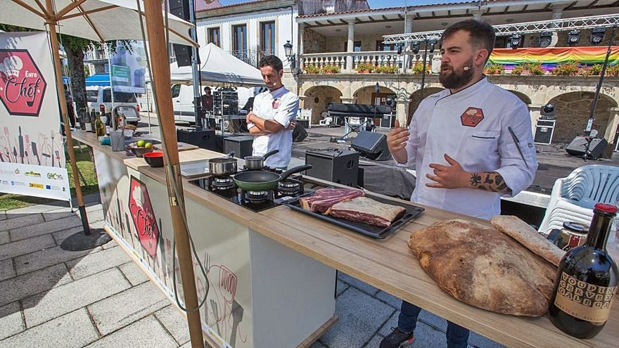 """La demostración de cocina de Agolada formará parte del proyecto """"Eurochef"""""""