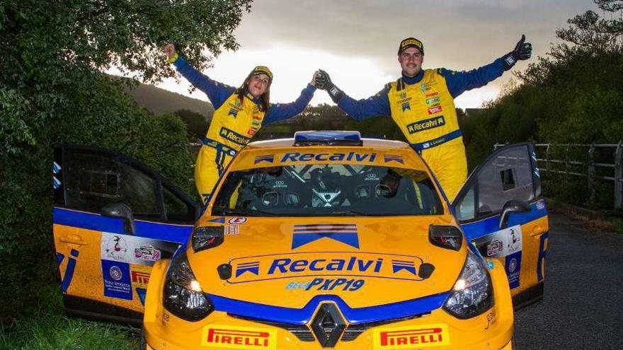 Los júnior del Recalvi Team debutan en el Rallye Rías Baixas