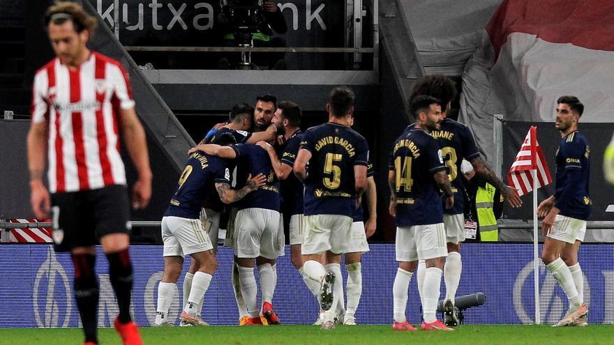Osasuna celebra la permanencia con un empate ante el Athletic