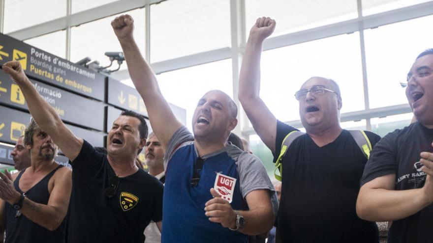Eulen no readmitirá a los trabajadores despedidos en El Prat