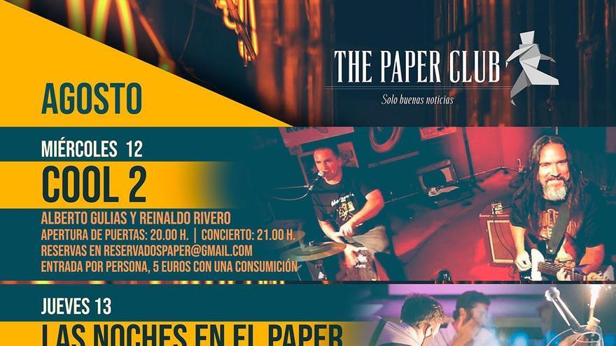 Las noches en el Paper