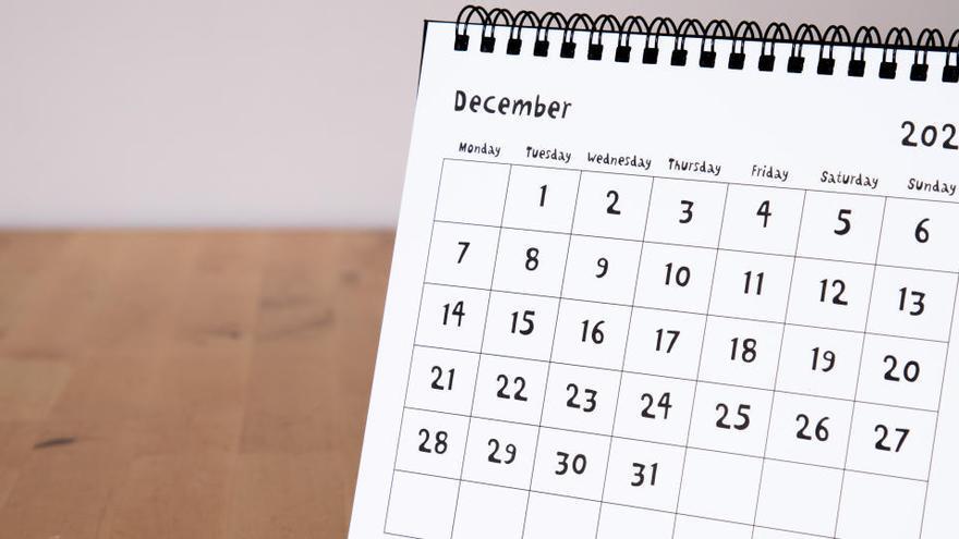 ¿Qué días son festivos el puente de diciembre?