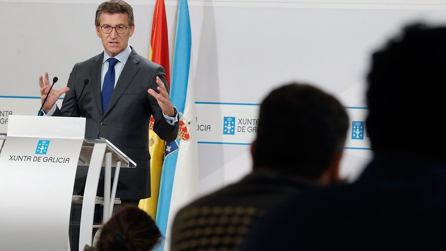 """Alberto Núñez Feijóo, más """"estricto"""" que el Gobierno en las reuniones para Navidad"""