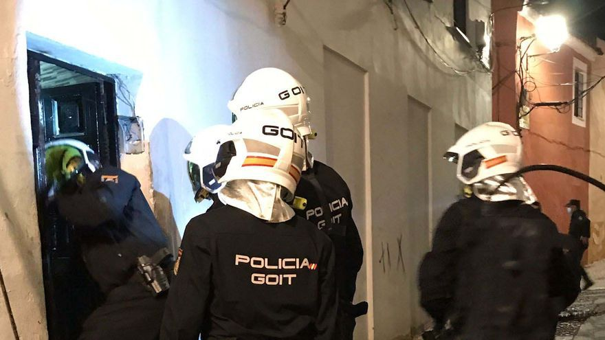 La desarticulación de un punto de venta de droga en Badajoz acaba con cinco detenidos
