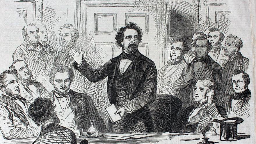 Dickens, contador de sus propias historias