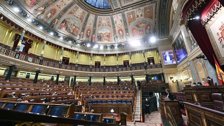 El Congreso recupera, más de un año después, el voto presencial al 100%