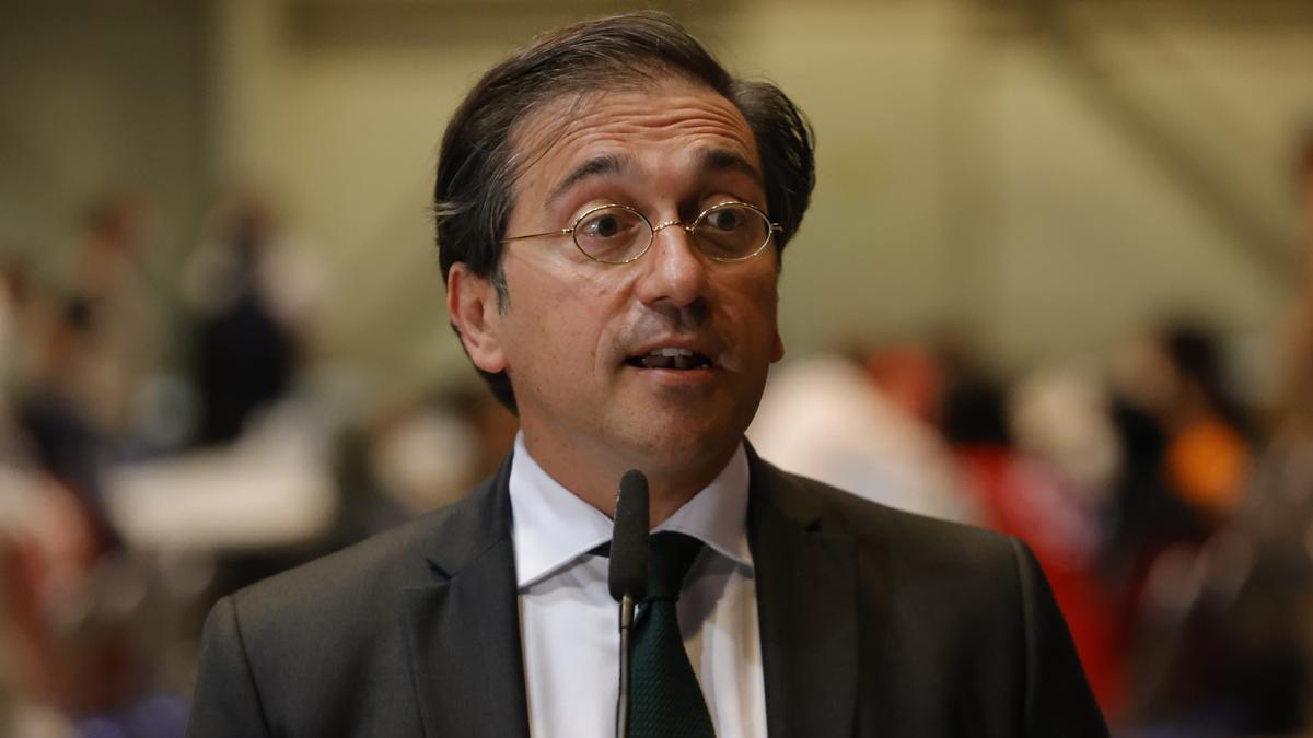 El ministro de Asuntos Exteriores, José Manuel Albares.